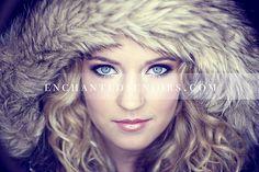 Winter Senior Picture Ideas for Girls | Senior Posing | #seniorpictureideasforgirls #seniorposing #wintersenior