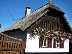 Mezőkövesd, tájház. Hungary Climbers, Hungary, Cement, Pergola, Farmhouse, Cabin, Rustic, Traditional, Landscape