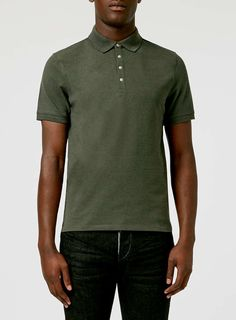 Spring break - Selected Homme Green Polo Shirt
