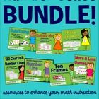 **Updated Summer 2014!!**  This bundle now includes seven of my bestselling number sense resources.  I use them with my first graders, though the a...