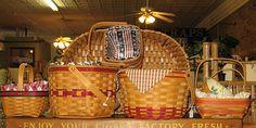 Some Longaberger baskets