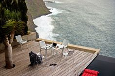 This is one breathtaking terrace! Who would not love to spend hours and hours sitting there?