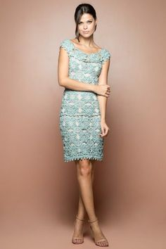 @roressclothes closet ideas #women fashion outfit #clothing style apparel Crochet Dress -