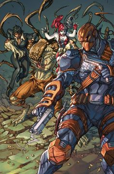 Deathstroke #13 - Snakebite by Paolo Pantalena, colours by Arif Prianto *