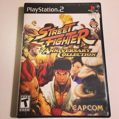 On instagram by retrocemetery  #retrogames #microhobbit (o)  http://ift.tt/1Mvi21E  Street Fighter Anniversary Collection has one of my favorite fighting games of all time Street Fighter III: Third strike. Who is your favorite street fighter? #streetfighter #capcom #sony #playstation #game #gamer #games #gamers #videogames #gamergirl #gamerguy #retro #retrocollect  #retrogamers #instagamers #retrogamer #picoftheday #photooftheday