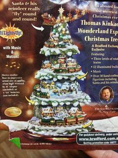 Christmas tree trains