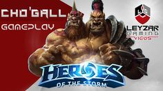 Heroes of the Storm (Gameplay) - Cho'Gall - Cho Gameplay (HotS Quick Match)
