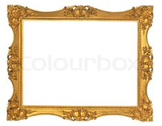 Free Victorian Borders and Frames | Stock image of 'gold, frame, old'