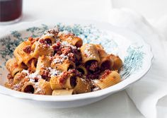 Rigatoni with Spicy Calabrese-Style Pork Ragù - Bon Appétit