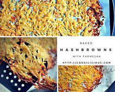 Baked Hash Browns wi