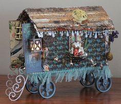 Imagine If...: Gypsy Wagon - Chipboard