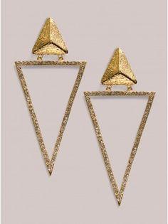 Kesha Earrings in Gold