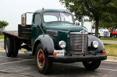 old flatbed farm truck international - Google Search