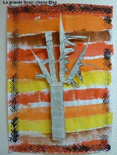 Autumn Crafts, Fall Crafts For Kids, Autumn Art, Autumn Theme, Art For Kids, Fall Art Projects, School Art Projects, September Art, Classe D'art