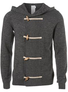 For mens fashion check out the latest ranges at Topman online and buy today. Topman - The only destination for the best in mens fashion Sharp Dressed Man, Well Dressed Men, Mens Attire, Hooded Cardigan, Grey Cardigan, Mode Style, Grey Hoodie, Swagg, Look Cool