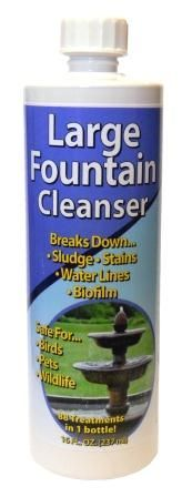 Large Fountain Cleanser - non toxic