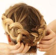 Braids for short hair - the beauty department kristin ess