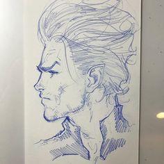 Namor warmup sketch. Available for purchase at davidmarquez.com Superhero Art Projects, Scott Campbell, Hero Arts, Art Sketches, Marvel Comics, Character Design, David, Fan Art, Drawings