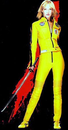 the bride uma thurman kill bill vol 1 2003 costume and cosplay pinterest cin ma film. Black Bedroom Furniture Sets. Home Design Ideas