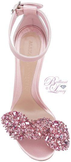 Brilliant Luxury ♦ Alexander McQueen embellished sandals