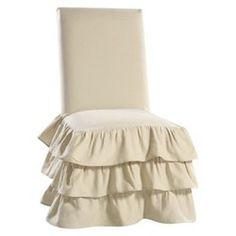target ruffle chair cover