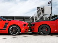 Ford Mustang Boss 302 vs. Chevy Camaro SS 1LE