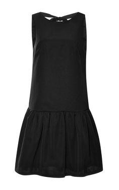 Katia Exposed-Back Faille Dress by Tibi - Moda Operandi