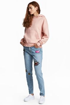 New H&M Mickey Slim Jeans Are A Fabulous Mix of Denim and Disney