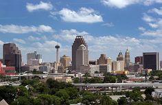 San Antonio - downtown, Texas