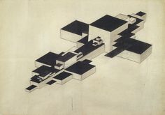 Suprematism in architecture: Kazimir Malevich and the arkhitektons Kazimir Malevich, Architecture Drawings, Contemporary Architecture, Architecture Models, Religion, Constructivism, Post Impressionism, India Ink, Art For Art Sake