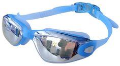 Amazon.com : ABUSA ™ Waterproof HD Swim Goggles Anti-Fog Anti-UV Swimwear - Rose Red : Sports & Outdoors