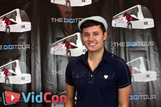 Nick Pitera at VidCon 2013 <3