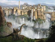 Dinotopia~ best dinosaur movie EVER <3