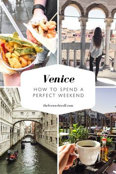 How to spend a perfect 2 days in Venice. This guide will tell you everything from how to enjoy the canals, where to eat, what to see and love every moment of it