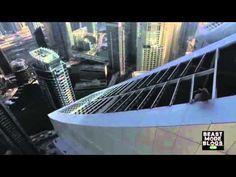 BEASTLY DAREDEVIL SLIDES DOWN SKYSCRAPER - YouTube