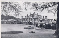 Lowther Castle 1903  This site has been occupied by the Lowther family for over 800 years!