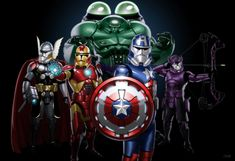 Avengers re-imagined as Clone Troopers.