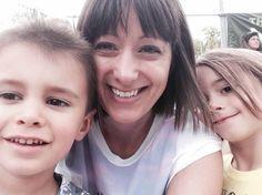 Happy smiles for Wyatt, Melissa and Evie