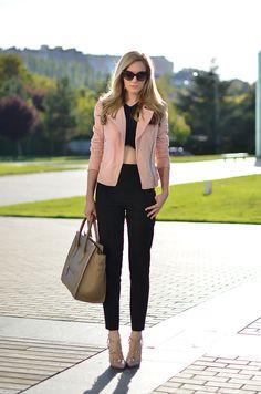Pink / black / pink - Oh My Vogue