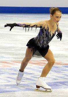 Hannah Miller, good skater, great potential