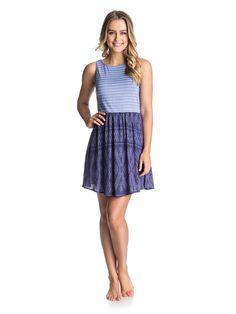 South Side - Gewebtes Kleid für Frauen  Wir präsentieren dir das South Side von Roxy. Dieses Kleid ist Teil unserer Frühjahrskollektion 2015 und besticht mit folgenden Features: gestreiftes Top, Rock mit Ikat-Muster und ärmelloses Design.  Merkmale:  Gewebtes Kleid, Gestreiftes Top, Rock mit Ikat-Muster, Ärmelloses Design, V-Ausschnitt,  Dieses Produkt besteht aus:  100% Viskose,  ...