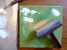 painting with cold wax medium