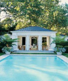 Aerin Lauder's Hamptons home via Elle Decor