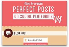 Infographic: A guide to perfect social media posts | Articles | Main