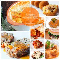 recetas con carne picada