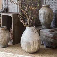 Metal Hanging Planters, Metal Vase, Wabi Sabi, Large Flower Pots, Keramik Vase, Terracota, Container Flowers, Pottery Vase, Ceramic Pottery
