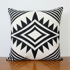 Hand screen printed Eco cushions  New York Jet by Bubblesatthehead, $50.00
