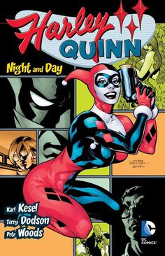 In this second HARLEY QUINN collection, Harley gets fed up with crime and decides to switch sides -- much to the chagrin of Batman and company. Then, with her gang threatening to mutiny, Harley must w