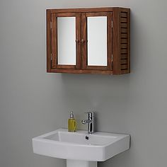 buy john lewis jakarta bathroom double wall cabinet online at johnlewiscom john lewis
