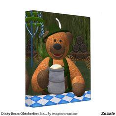 Dinky Bears Oktoberfest Binder